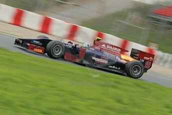 © Octane Photographic Ltd. GP2 Autumn Test – Circuit de Catalunya – Barcelona. Tuesday 30th October 2012 Afternoon sessionVenezuela GP Lazarus - Kevin Giovesi. Digital Ref : 0552cb1d6584