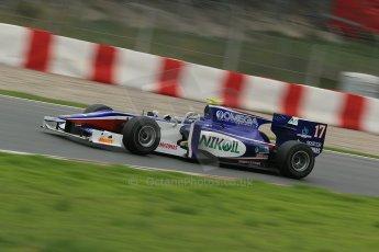© Octane Photographic Ltd. GP2 Autumn Test – Circuit de Catalunya – Barcelona. Tuesday 30th October 2012 Afternoon session - Trident Racing - Julian Leal. Digital Ref : 0552cb1d6592