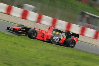 © Octane Photographic Ltd. GP2 Autumn Test – Circuit de Catalunya – Barcelona. Tuesday 30th October 2012 Afternoon session - Carlin - Felipe Nasr. Digital Ref : 0552cb1d6618