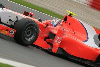 © Octane Photographic Ltd. GP2 Autumn Test – Circuit de Catalunya – Barcelona. Tuesday 30th October 2012 Afternoon session - Arden International - Mitch Evans. Digital Ref : 0552cb1d6658