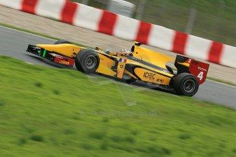 © Octane Photographic Ltd. GP2 Autumn Test – Circuit de Catalunya – Barcelona. Tuesday 30th October 2012 Afternoon session - Dams - Arthur Pic. Digital Ref : 0552cb1d6776