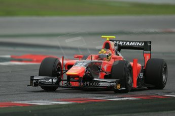 © Octane Photographic Ltd. GP2 Autumn Test – Circuit de Catalunya – Barcelona. Tuesday 30th October 2012 Afternoon session - Carlin - Rio Haryanto. Digital Ref : 0552cb1d6934
