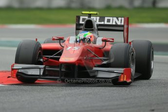 © Octane Photographic Ltd. GP2 Autumn Test – Circuit de Catalunya – Barcelona. Tuesday 30th October 2012 Afternoon session - Scuderia Coloni - Riccardo Agostini. Digital Ref : 0552cb1d7399