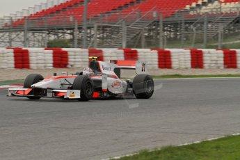 © Octane Photographic Ltd. GP2 Autumn Test – Circuit de Catalunya – Barcelona. Tuesday 30th October 2012 Afternoon session - Rapax - Stefano Coletti. Digital Ref : 0552lw7d0539