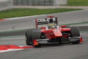 © Octane Photographic Ltd. GP2 Autumn Test – Circuit de Catalunya – Barcelona. Tuesday 30th October 2012 Afternoon session - Scuderia Coloni - Daniel de Jong. Digital Ref : 0552lw7d0796