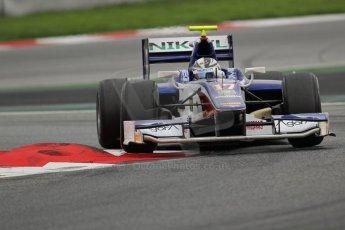 © Octane Photographic Ltd. GP2 Autumn Test – Circuit de Catalunya – Barcelona. Tuesday 30th October 2012 Afternoon session - Trident Racing - Julian Leal. Digital Ref : 0552lw7d0834