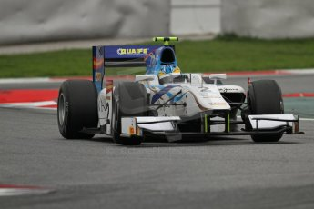 © Octane Photographic Ltd. GP2 Autumn Test – Circuit de Catalunya – Barcelona. Tuesday 30th October 2012 Afternoon session - Barwa Addax Team - Adrian Quaife-Hobbs. Digital Ref : 0552lw7d0864