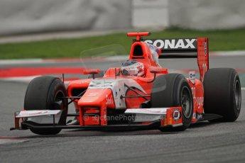 © Octane Photographic Ltd. GP2 Autumn Test – Circuit de Catalunya – Barcelona. Tuesday 30th October 2012 Afternoon session - Arden International - Simon Trummer. Digital Ref : 0552lw7d0885