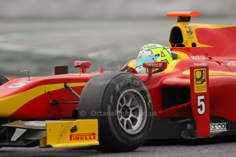 © Octane Photographic Ltd. GP2 Autumn Test – Circuit de Catalunya – Barcelona. Tuesday 30th October 2012 Afternoon session - Racing Engineering - Andre Negrao. Digital Ref : 0552lw7d1056