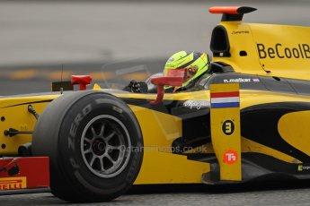 © Octane Photographic Ltd. GP2 Autumn Test – Circuit de Catalunya – Barcelona. Tuesday 30th October 2012 Afternoon session - Dams - Nigel Melker. Digital Ref : 0552lw7d1152