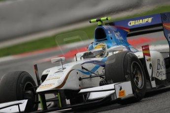 © Octane Photographic Ltd. GP2 Autumn Test – Circuit de Catalunya – Barcelona. Tuesday 30th October 2012 Afternoon session - Barwa Addax Team - Adrian Quaife-Hobbs. Digital Ref : 0552lw7d1194