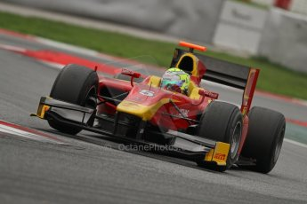 © Octane Photographic Ltd. GP2 Autumn Test – Circuit de Catalunya – Barcelona. Tuesday 30th October 2012 Afternoon session - Racing Engineering - Andre Negrao. Digital Ref : 0552lw7d1307