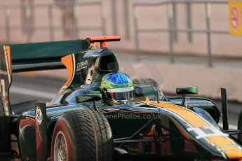 © Octane Photographic Ltd. GP2 Autumn Test – Circuit de Catalunya – Barcelona. Tuesday 30th October 2012 Morning session - Caterham Racing - Lucas Foresti. Digital Ref : 0551cb1d5573