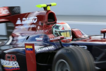 © Octane Photographic Ltd. GP2 Autumn Test – Circuit de Catalunya – Barcelona. Tuesday 30th October 2012 Morning session - Venezuela GP Lazarus - Kevin Giovesi. Digital Ref : 0551cb1d5686