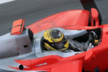 © Octane Photographic Ltd. GP2 Autumn Test – Circuit de Catalunya – Barcelona. Tuesday 30th October 2012 Morning session - Scuderia Coloni - Daniel De Jong. Digital Ref : 0551cb1d5772