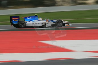 © Octane Photographic Ltd. GP2 Autumn Test – Circuit de Catalunya – Barcelona. Tuesday 30th October 2012 Morning session - Barwa Addax Team - Adrian Quaife-Hobbs. Digital Ref : 0551cb1d6059
