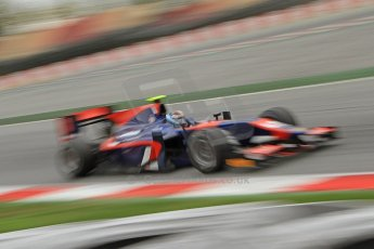 © Octane Photographic Ltd. GP2 Autumn Test – Circuit de Catalunya – Barcelona. Tuesday 30th October 2012 Morning session - iSport International - Facundo Regalia. Digital Ref : 0551cb7d2215