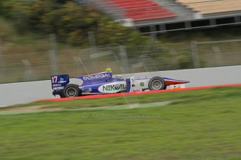 © Octane Photographic Ltd. GP2 Autumn Test – Circuit de Catalunya – Barcelona. Tuesday 30th October 2012 Morning session - Trident Racing - Julian Leal. Digital Ref : 0551lw7d0211