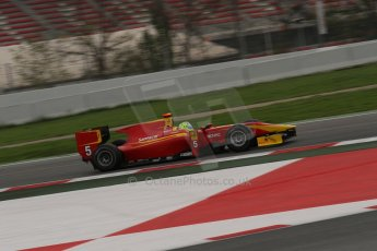© Octane Photographic Ltd. GP2 Autumn Test – Circuit de Catalunya – Barcelona. Tuesday 30th October 2012 Morning session - Racing Engineering - Andre Negrao. Digital Ref : 0551lw7d0246