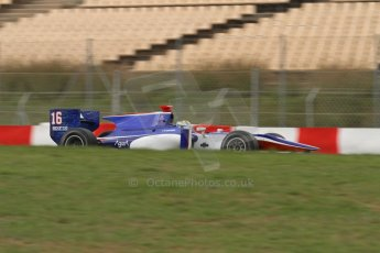 © Octane Photographic Ltd. GP2 Autumn Test – Circuit de Catalunya – Barcelona. Tuesday 30th October 2012 Morning session - Trident Racing - Marcus Ericsson. Digital Ref : 0551lw7d0304