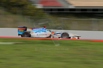© Octane Photographic Ltd. GP2 Autumn Test – Circuit de Catalunya – Barcelona. Tuesday 30th October 2012 Morning session - Barwa Addax Team - Mike Rosenzweig. Digital Ref : 0551lw7d0352
