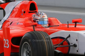© Octane Photographic Ltd. GP2 Autumn Test – Circuit de Catalunya – Barcelona. Tuesday 30th October 2012 Morning session. Digital Ref : 0551lw7d9879