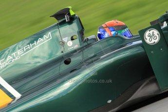 © Octane Photographic Ltd. GP2 Autumn Test – Circuit de Catalunya – Barcelona. Wednesday 31st October 2012 Afternoon session - Caterham Racing - Alexander Rossi. Digital Ref :