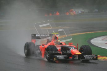 © 2012 Octane Photographic Ltd. Belgian GP Spa - Friday 31st August 2012 - GP2 Practice - Carlin - Rio Haryanto. Digital Ref :