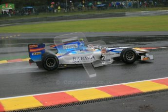 © 2012 Octane Photographic Ltd. Belgian GP Spa - Friday 31st August 2012 - GP2 Practice - Barwa Addax team - Josef Kral. Digital Ref :