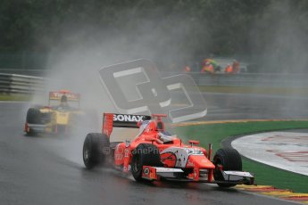 © 2012 Octane Photographic Ltd. Belgian GP Spa - Friday 31st August 2012 - GP2 Friday Practice - Simon Trummer and Dams - Davide Valsecchi. Digital Ref :