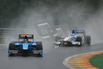 © 2012 Octane Photographic Ltd. Belgian GP Spa - Friday 31st August 2012 - GP2 Practice - Ocean Racing Technology - Victor Guerin and Barwa Addax team - Johnny Cecotto. Digital Ref :