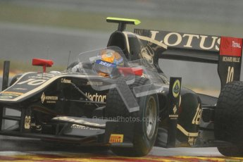 © 2012 Octane Photographic Ltd. Belgian GP Spa - Friday 31st August 2012 - GP2 Practice - Lotus GP - Esteban Gutierrez. Digital Ref :
