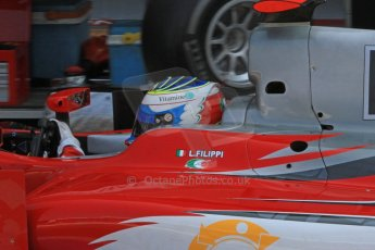 © 2012 Octane Photographic Ltd. Italian GP Monza - Friday 7th September 2012 - GP2 Practice - Scuderia Coloni - Luca Filippi. Digital Ref : 0506cb7d2058