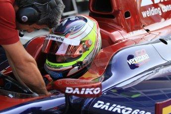 © 2012 Octane Photographic Ltd. Italian GP Monza - Friday 7th September 2012 - GP2 Practice - Venezuela GP Lazarus - Rene Binder. Digital Ref : 0506cb7d2093