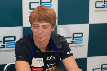 © 2012 Octane Photographic Ltd. Italian GP Monza - Friday 7th September 2012 - GP2 Qualifying - Barwa Addax team - Johnny Cecotto (3rd but with 5 place penalty). Digital Ref : 0509cb1d0571
