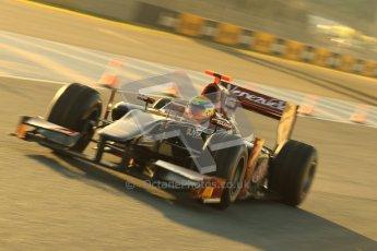 © Octane Photographic Ltd. GP2 Winter testing Jerez Day 1, Tuesday 28th February 2012. Venezuela GP Lazarus, Fabrizio Crestani. Digital Ref :