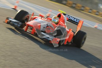 © Octane Photographic Ltd. GP2 Winter testing Jerez Day 1, Tuesday 28th February 2012. Arden International, Luiz Razia. Digital Ref :