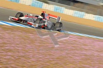 © Octane Photographic Ltd. GP2 Winter testing Jerez Day 1, Tuesday 28th February 2012. Rapax, Dani Clos. Digital Ref :