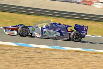 © Octane Photographic Ltd. GP2 Winter testing Jerez Day 1, Tuesday 28th February 2012. Trident Racing, Julian Leal. Digital Ref :