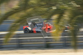 © Octane Photographic Ltd. GP2 Winter testing Jerez Day 1, Tuesday 28th February 2012. Marussia Carlin, Rio Haryanto. Digital Ref :