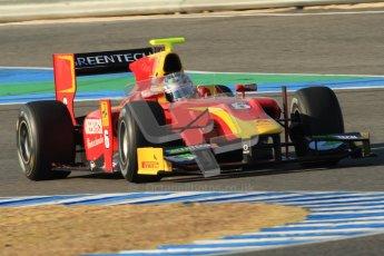© Octane Photographic Ltd. GP2 Winter testing Jerez Day 1, Tuesday 28th February 2012. Racing Engineering, Nathanael Berthon. Digital Ref :