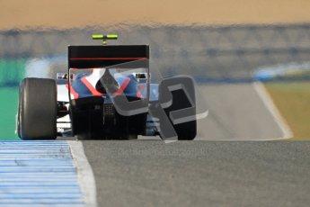 © Octane Photographic Ltd. GP2 Winter testing Jerez Day 1, Tuesday 28th February 2012. Rapax, Daniel de Jong. Digital Ref :
