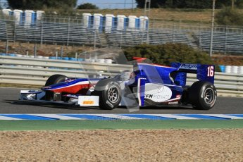 © Octane Photographic Ltd. GP2 Winter testing Jerez Day 1, Tuesday 28th February 2012. Trident Racing, Stephane Richelmi. Digital Ref :