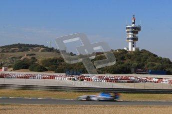 © Octane Photographic Ltd. GP2 Winter testing Jerez Day 1, Tuesday 28th February 2012. Barwa Addax Team, Josef Kral. Digital ref:
