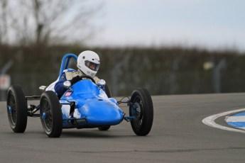 © Octane Photographic Ltd. HSCC Donington Park 17th March 2012. 500cc F3. J.B Bones - Cousy No. 2. Digital ref : 0245cb7d5222