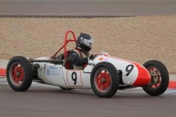 © Octane Photographic Ltd. HSCC Donington Park 17th March 2012. 500cc F3. Martin Gartside - Cooper Mk8. Digital ref : 0245lw7d7965