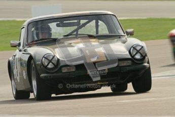 © Octane Photographic Ltd. HSCC Donington Park 17th March 2012. 70's Road Sports Championship. Julian Barter - TVR 3000M. Digital ref : 0239cb7d3488
