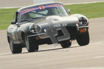 © Octane Photographic Ltd. HSCC Donington Park 17th March 2012. 70's Road Sports Championship. Robert Gate - Jaguar E Type. Digital ref : 0239cb7d3512