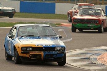 © Octane Photographic Ltd. HSCC Donington Park 17th March 2012. 70's Road Sports Championship. Will Morton - Alfa Romeo 2000 GTV. Digital ref : 0239lw7d3725