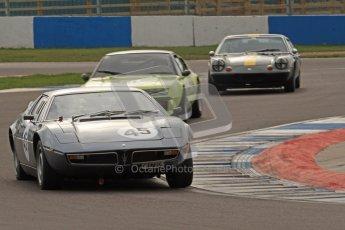 © Octane Photographic Ltd. HSCC Donington Park 17th March 2012. 70's Road Sports Championship. Graham Burgess - Maserati Bora. Digital ref : 0239lw7d4178
